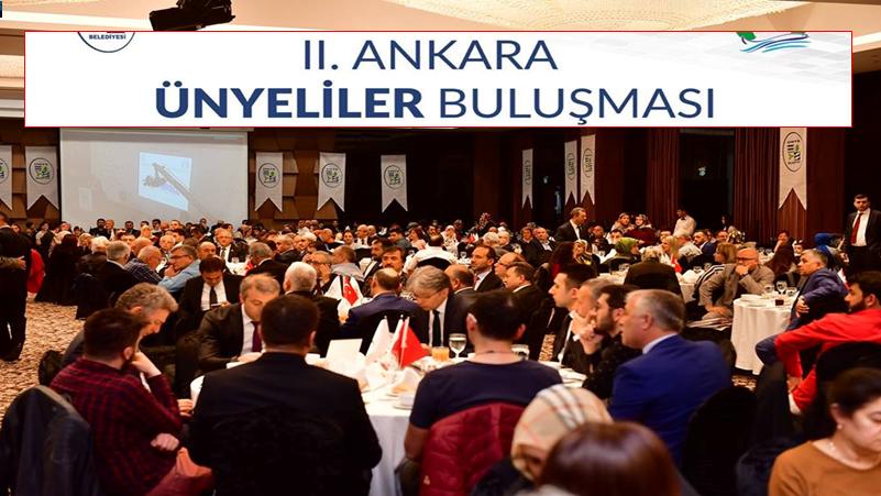 Ankara Ünyeliler Derneği 2. Ünyeliler Buluşması Gerçekleştirildi