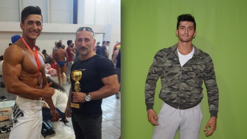 Vücut Geliştirme Şampiyonu Ünyeli Serkan Gümüş Hedefi Büyüttü