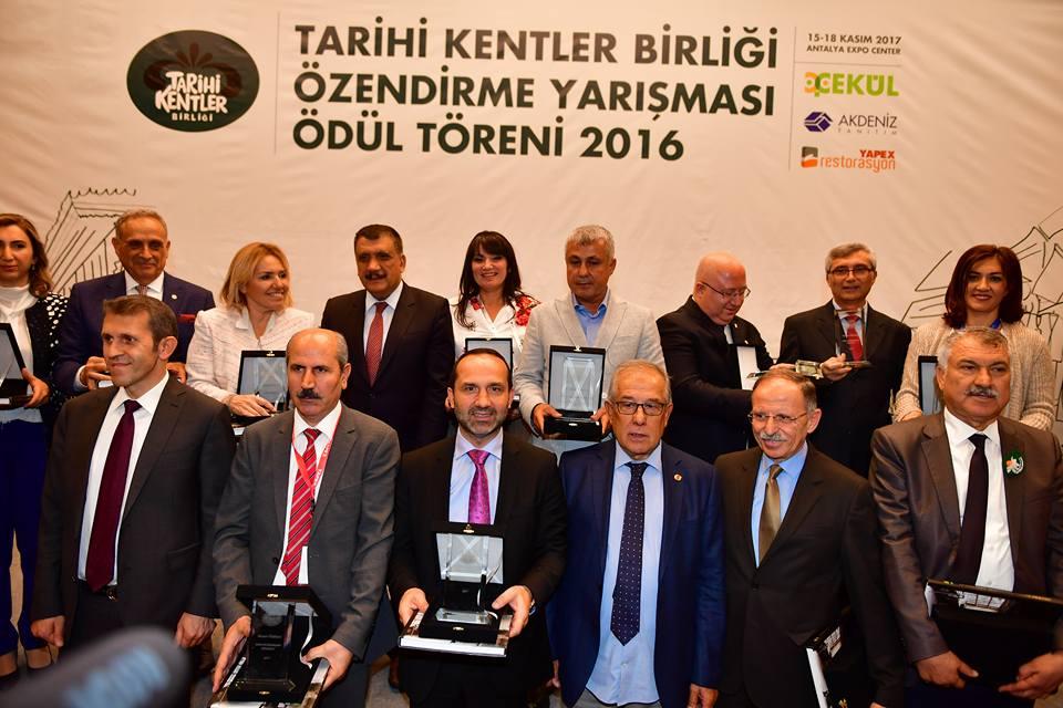 Ünye Belediyesine Başarı Ödülü