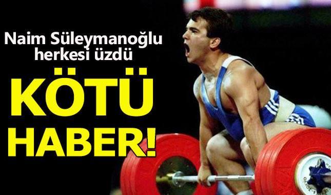 Dünya Şampiyonu  Naim Süleymanoğlu, Hayatını Kaybetti