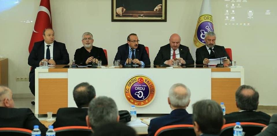 Cumhurbaşkanımızın İlimizi Ziyaret Programı İçin İstişare Toplantısı Yapıldı