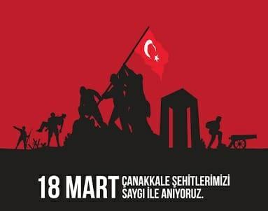 Çanakkale Zaferi'nin 103. yıl dönümünü kutlu olsun.