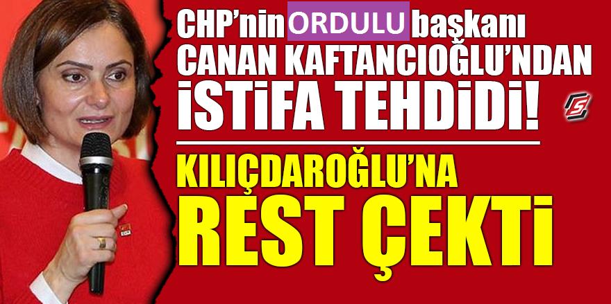 Ordulu Başkan Kılıçdaroğlu'na Rest Çekti
