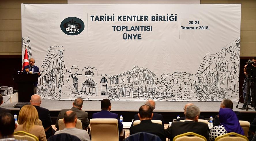 ÜNYE'DE TARİHİ TOPLANTI