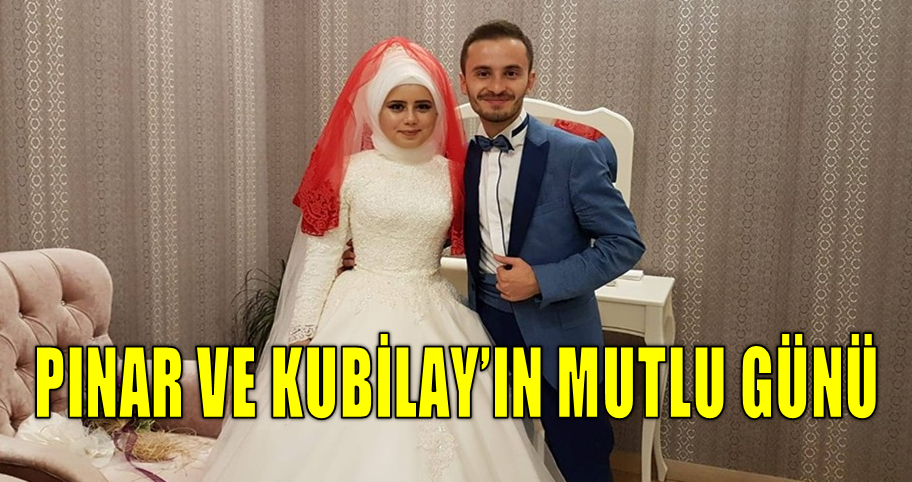 Pınar ile Kubilay Dünya Evine Girdiler