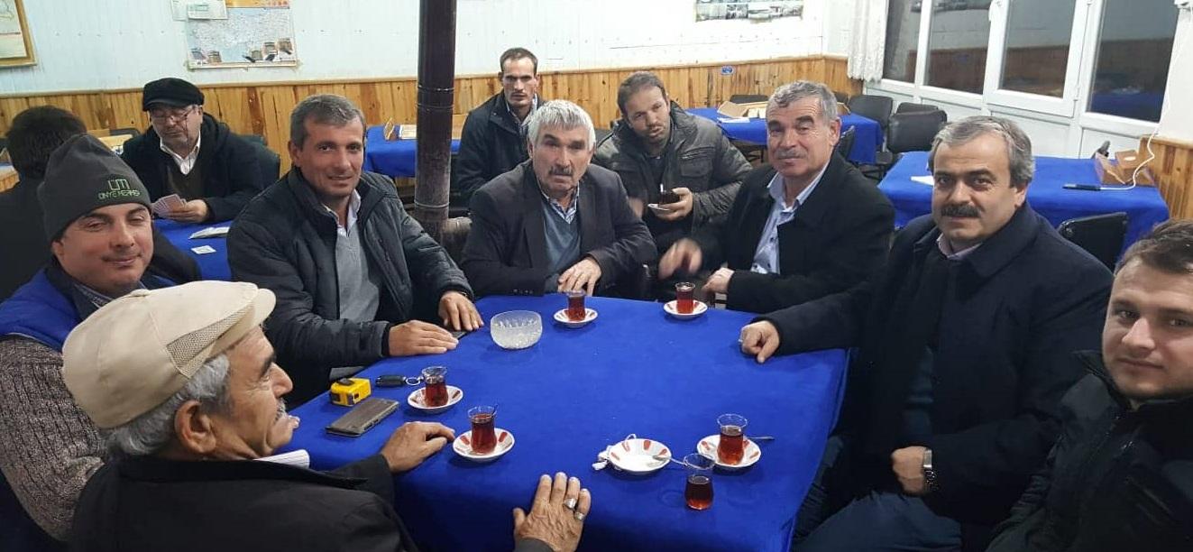 Çaybaşılılar Cemil Aksu'yu Başkan Görmek İstiyor