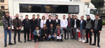 TÜGVA'dan Barış Pınarı Harekatındaki Askerlere Kan Bağışı Desteği