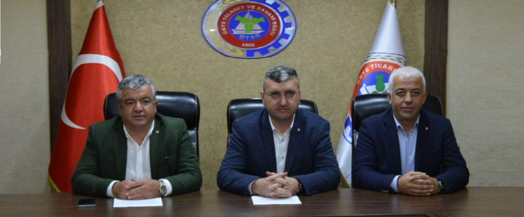 Başkan Uslu ve Akar, YÖREX FUARI Sonrası Basınla Buluştu