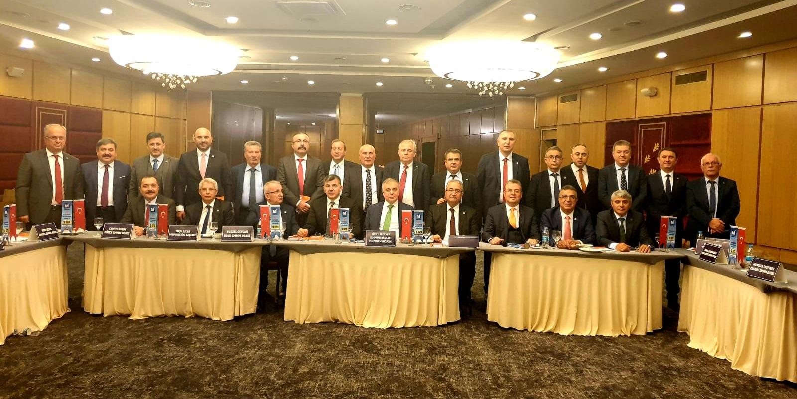 45'inci Karadeniz Oda Başkanları Toplantısı Gerçekleştirildi