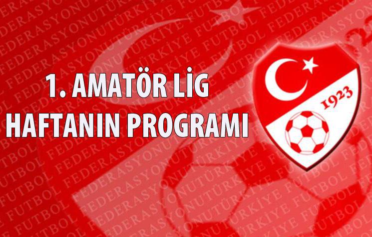 Ordu 1.Amatör Lig'de 6.Haftanın Programı