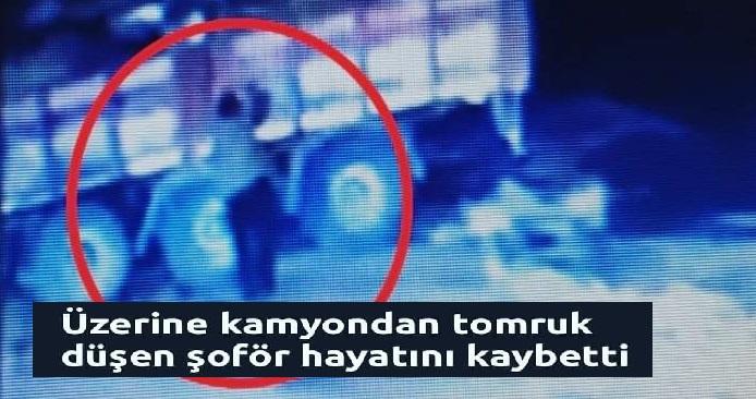"""FECİ KAZA """"ÜZERİNE TOMRUK DÜŞTÜ"""""""
