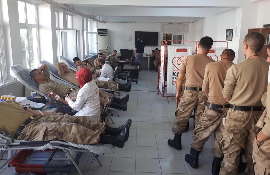 Ordu'da Mehmetçik Kan Verdi