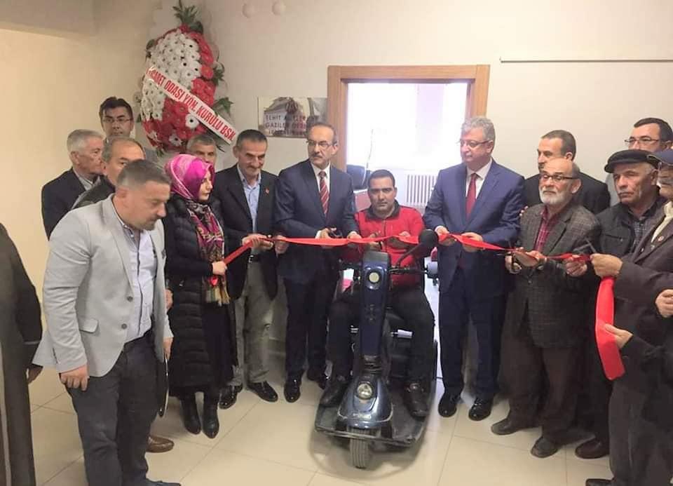 Fatsa'da şehit aileleri irtibat bürosu açıldı