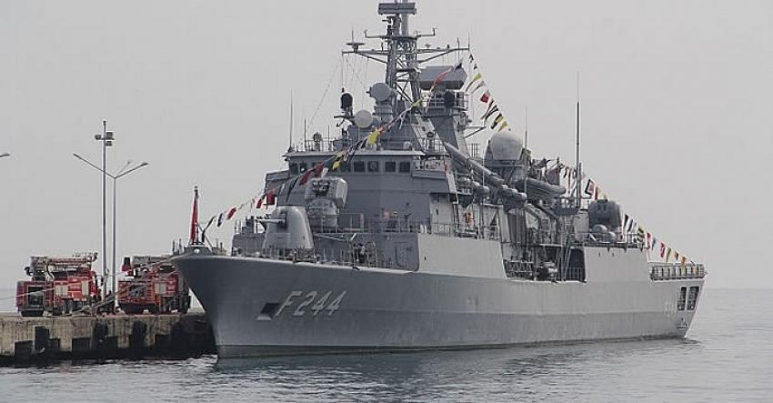 TCG YAVUZ (F-244) Gemisi Ordu Limanı'nı Ziyaret Edecek