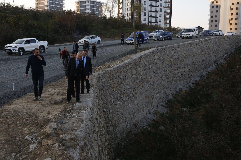 ŞEHİT BİROL YILDIRIM CADDESİ'NDE ÇALIŞMALAR HIZLANDI