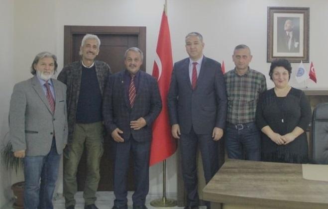 YBB'den Emniyet Müdürü Doğu Ateş'e Ziyaret