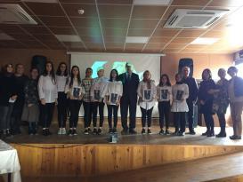 Ünye Kız Meslek Lisesi'nde 10 Kasım Atatürk'ü Anma Programı Yapıldı