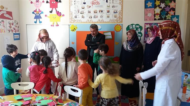 Mevlid-i Nebi Haftası Etkinlikleri Kapsamında 4-6 Yaş Kurslarına Ziyaret