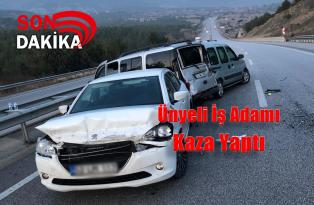 Ünyeli İş Adamı Tosya'da Kaza Yaptı