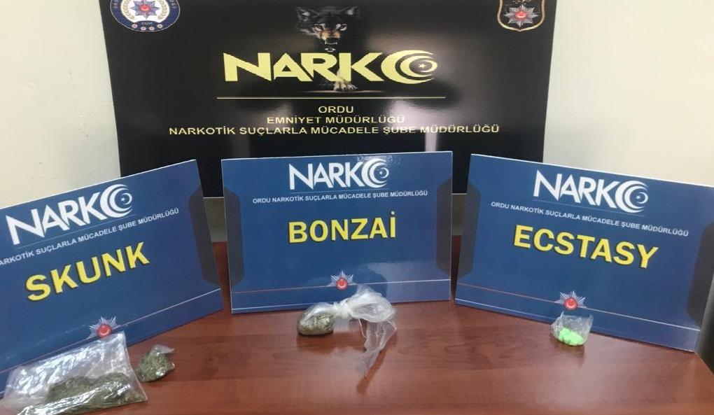 Akkuş'ta Uyuşturucu Operasyonu: 1 Tutuklama