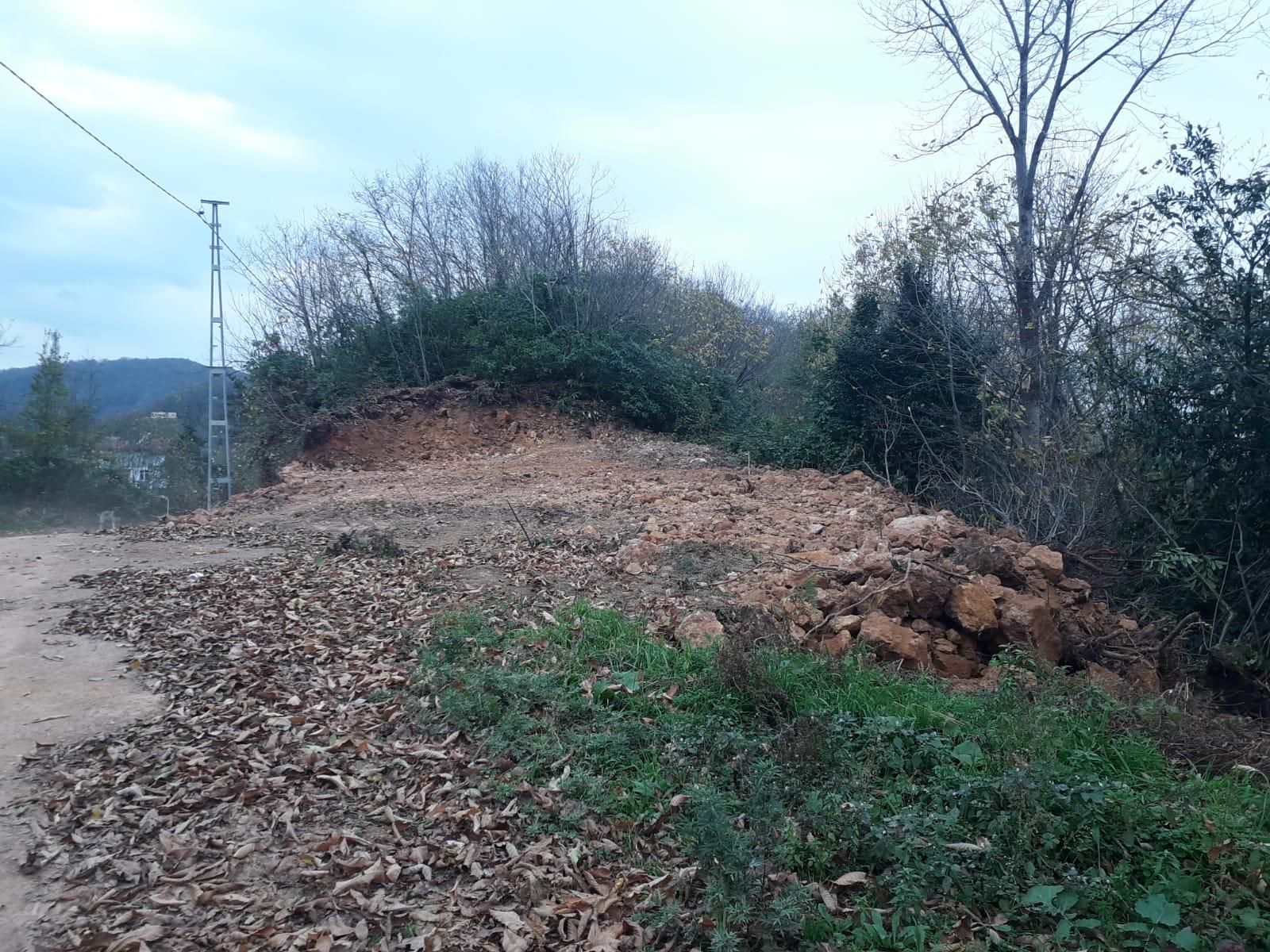 Ünye Orman İşletmesine Şikayet