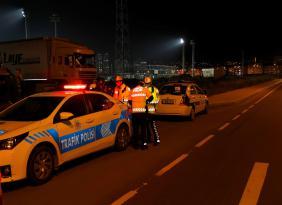 Ordu'da Bu Hafta 26 Trafik Kazası Meydana Geldi, 56 Araç Trafikten Men Edildi