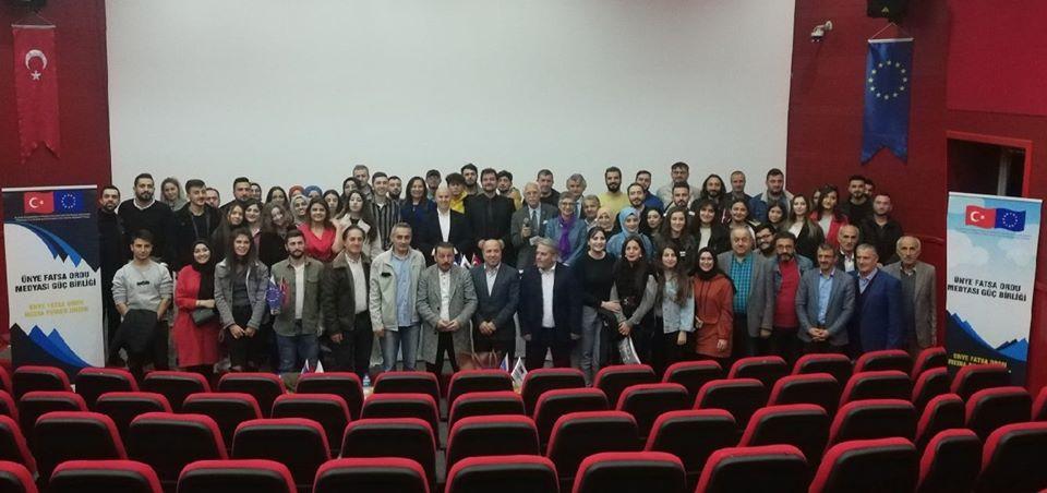 Fatsa'da, Medya Güç Birliği Yaptı