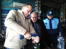 Ünye'de Yılbaşı Öncesi Alkol Denetimleri Arttırıldı