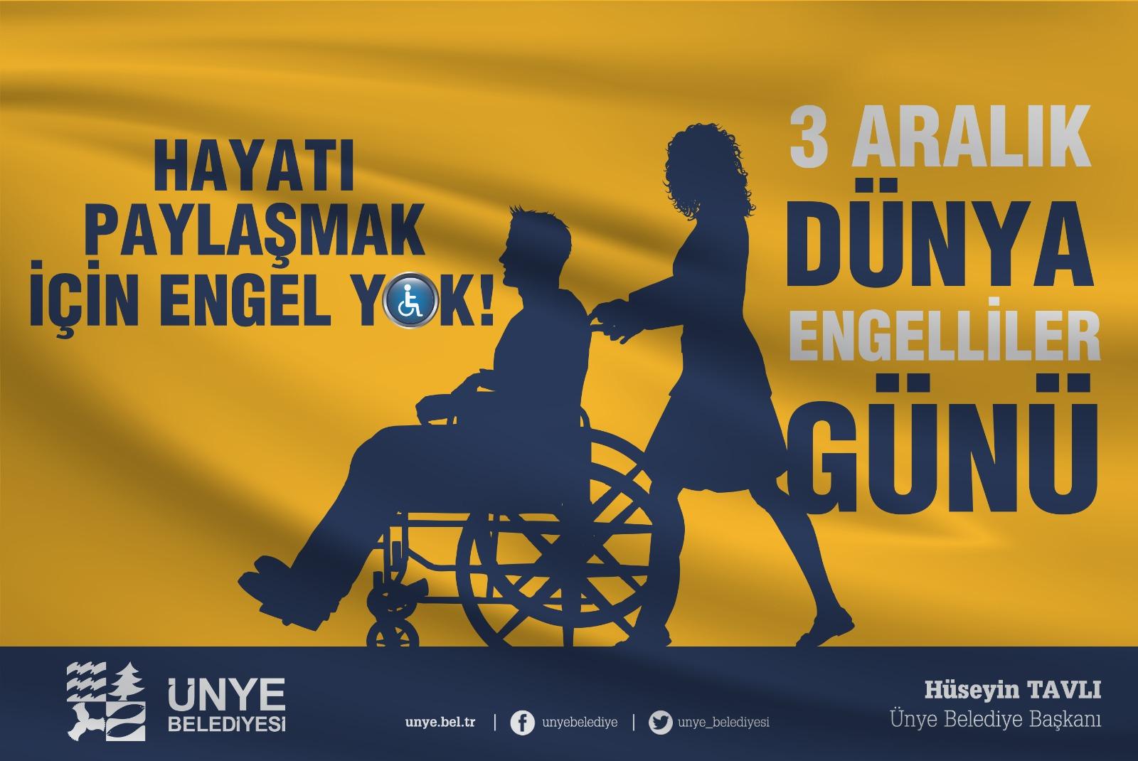 """""""ENGELLİ OLMAK KUSUR DEĞİLDİR"""""""
