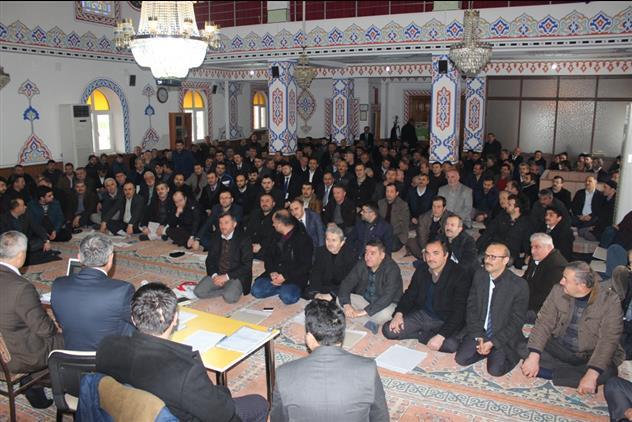 2020 Yılı Ocak Ayı Din Görevlileri toplantısı yapıldı