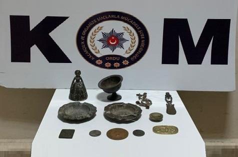 Altınordu'da 11 Adet Tarihi Eser Yakalandı