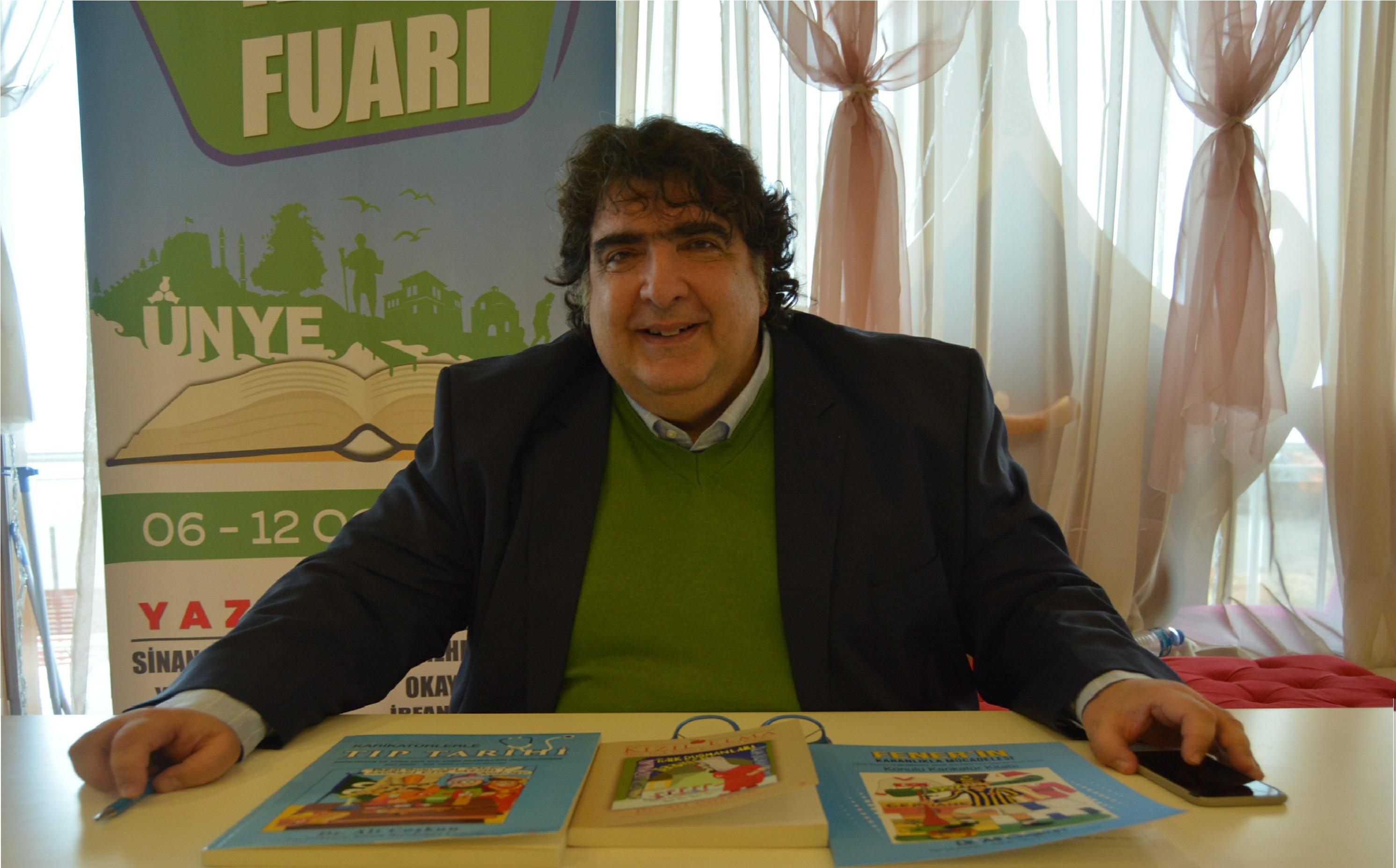 Dr. Ali Coşkun Ünye Fuarında