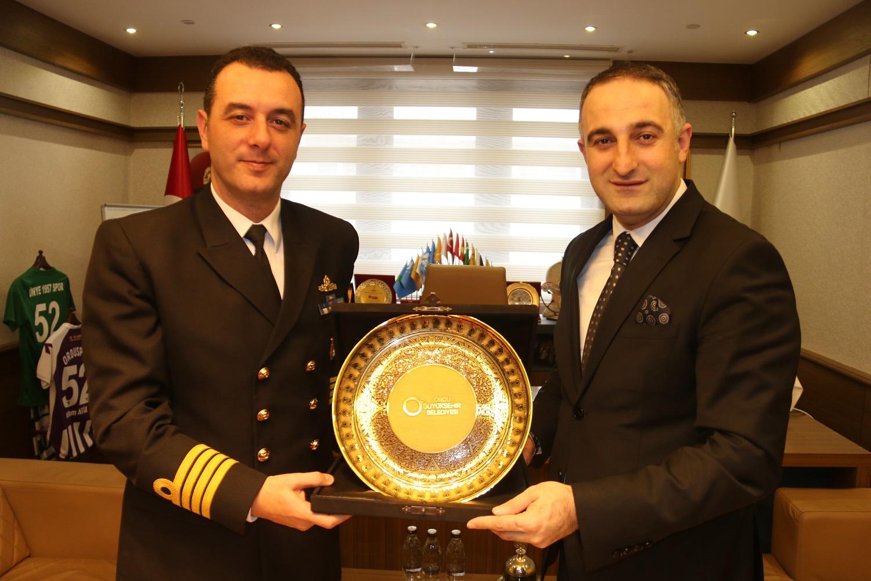 TCG FATİH (F-242) GEMİSİ ORDU'DA