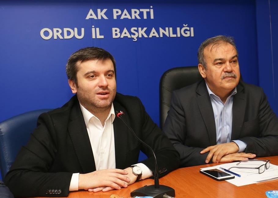 "KIRAN ""Ak Parti Zayıflarsa Türkiye Zayıflar , Ak Parti'nin Kaderi İle Türkiye'nin Kaderi Aynıdır"""