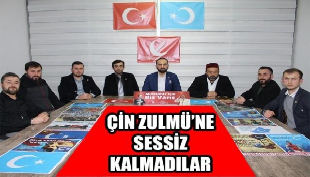 Yeniden Refah Partisi, Doğu Türkistan'daki Zulme Sessiz Kalmadı