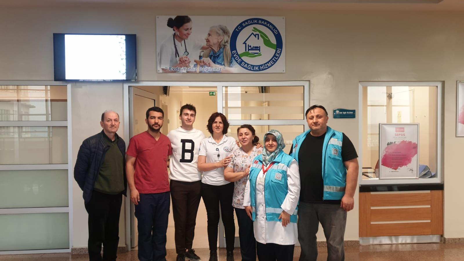 Evde Sağlık Hizmetleri Hastalarına, Ücretsiz Zatürre Aşı Uygulaması