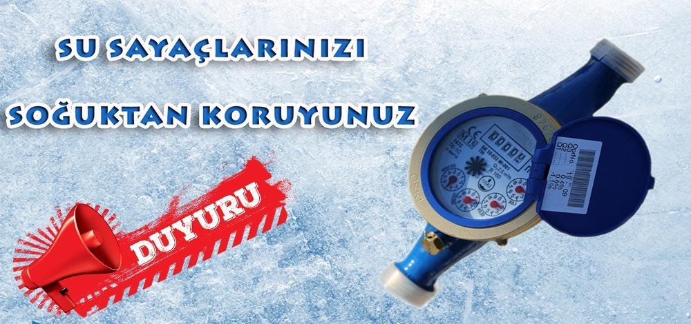 SU SAYAÇLARINDA DONMA TEHLİKESİNE DİKKAT!
