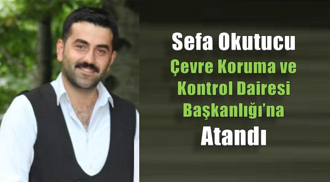 Sefa Okutucu, Daire Başkanlığına Atandı