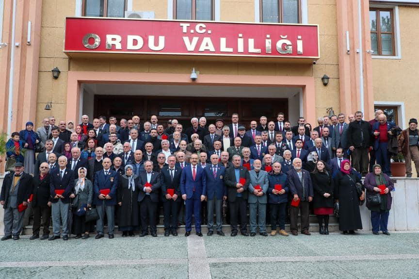 Kıbrıs Barış Harekatı'na Katılan 78 Gaziye, Madalya ve Beratları Törenle Tevcih Edildi
