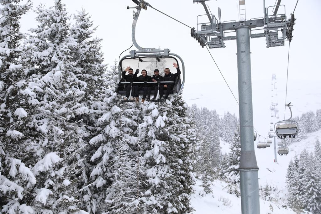 Çambaşı Kayak Merkezi'ne Gidecekler Dikkat!