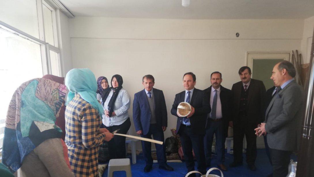 Tokgöz'den Halk Eğitim Merkezini Ziyaret