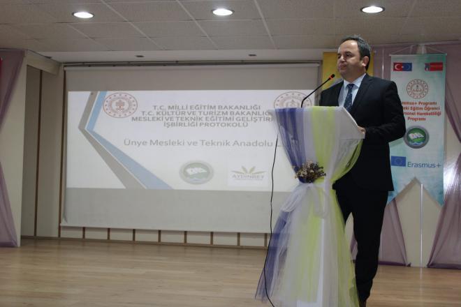 """""""mesleki ve teknik eğitimi geliştirme işbirliği protokolü"""" imzalandı"""