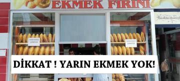 ÜNYE'DE BU PAZAR EKMEK YOK!