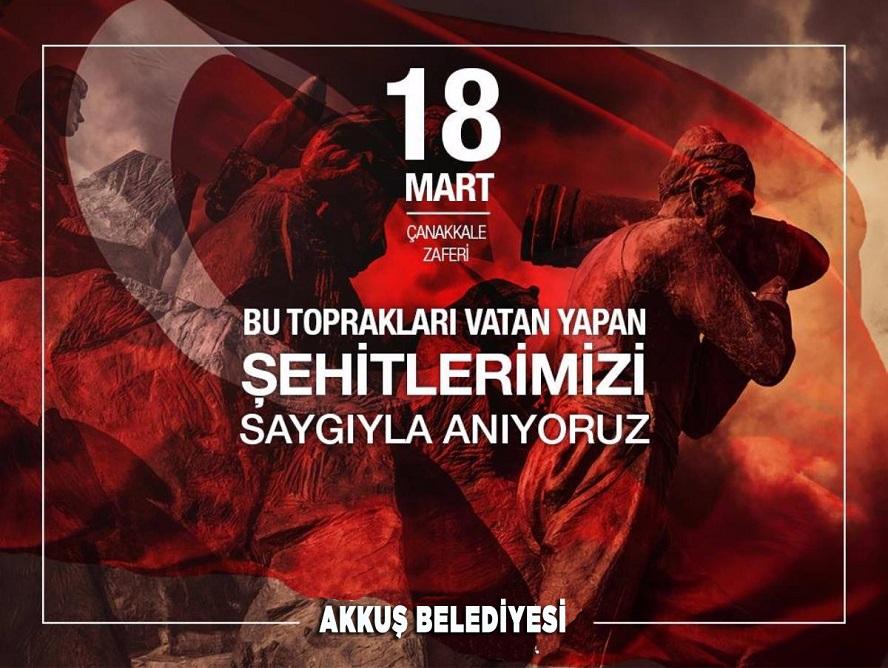 BAŞKAN DEMİRCİ'DEN 18 MART MESAJI