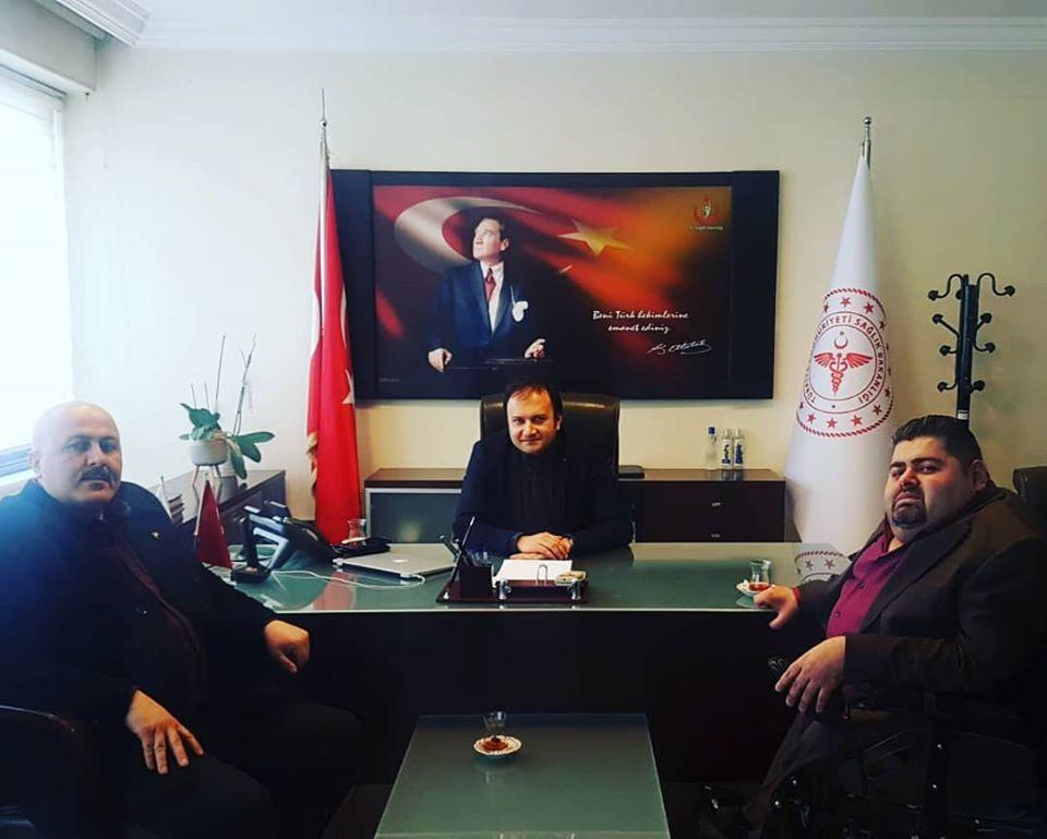 """DEVLET HASTANESİNDE """"BAĞIMLILIK"""" POLİKLİNİĞİ AÇILDI."""