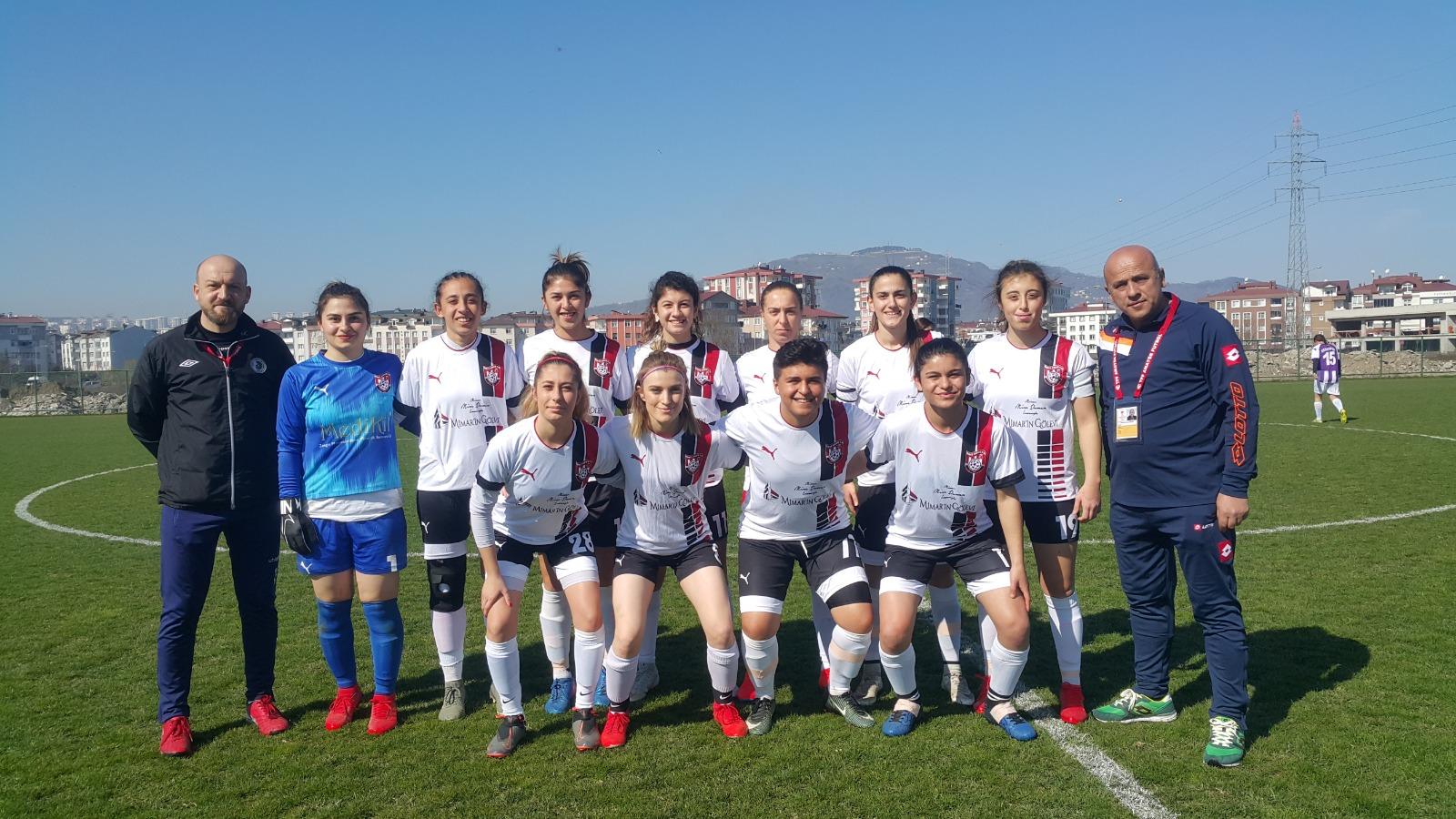 KIZLAR ORDU DERBİSİNİ FARKLI KAZANDI! 0-6