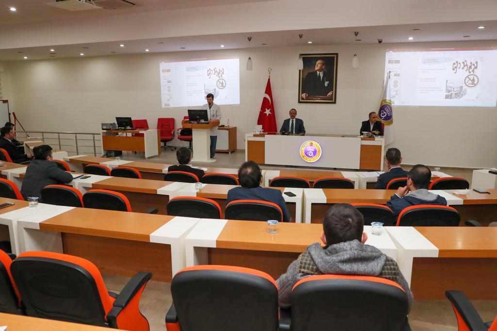 Pandemi Kurulu, Vali Yavuz'un Başkanlığında Toplandı
