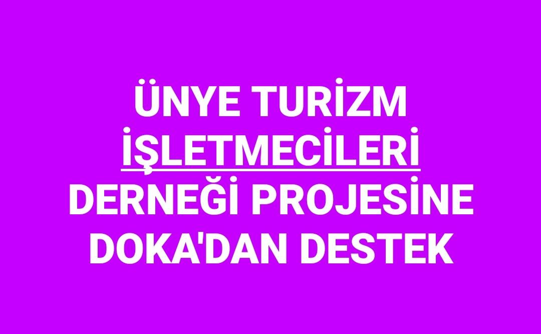 DOKA ORDU'DAN 5 PROJEYE DESTEK VERİCEK