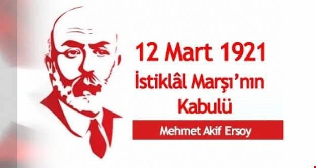 Vali YAVUZ'un 12 Mart İstiklal Marşının Kabulü ve Mehmet Akif Ersoy'u Anma Günü Mesajı