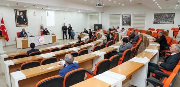 İl İdare Şube Başkanları ve İl Hıfzıssıhha Meclisi Toplantısı Yapıldı